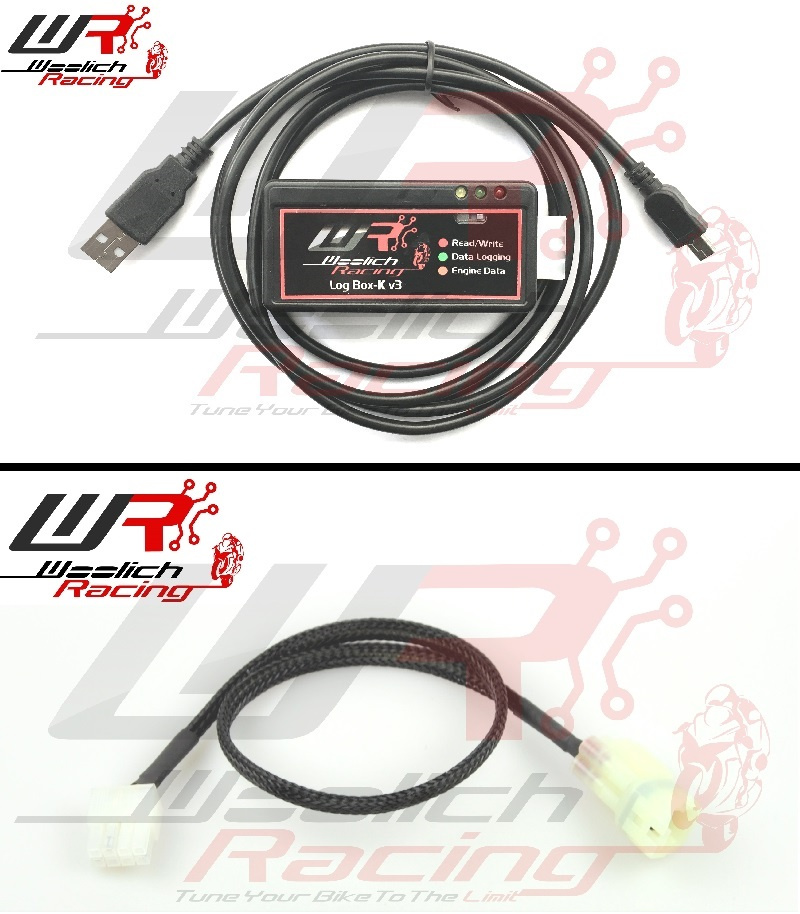 2008-2016 CB1000R - Log Box K v3 + Zeitronix ZT-3 Wideband Package
