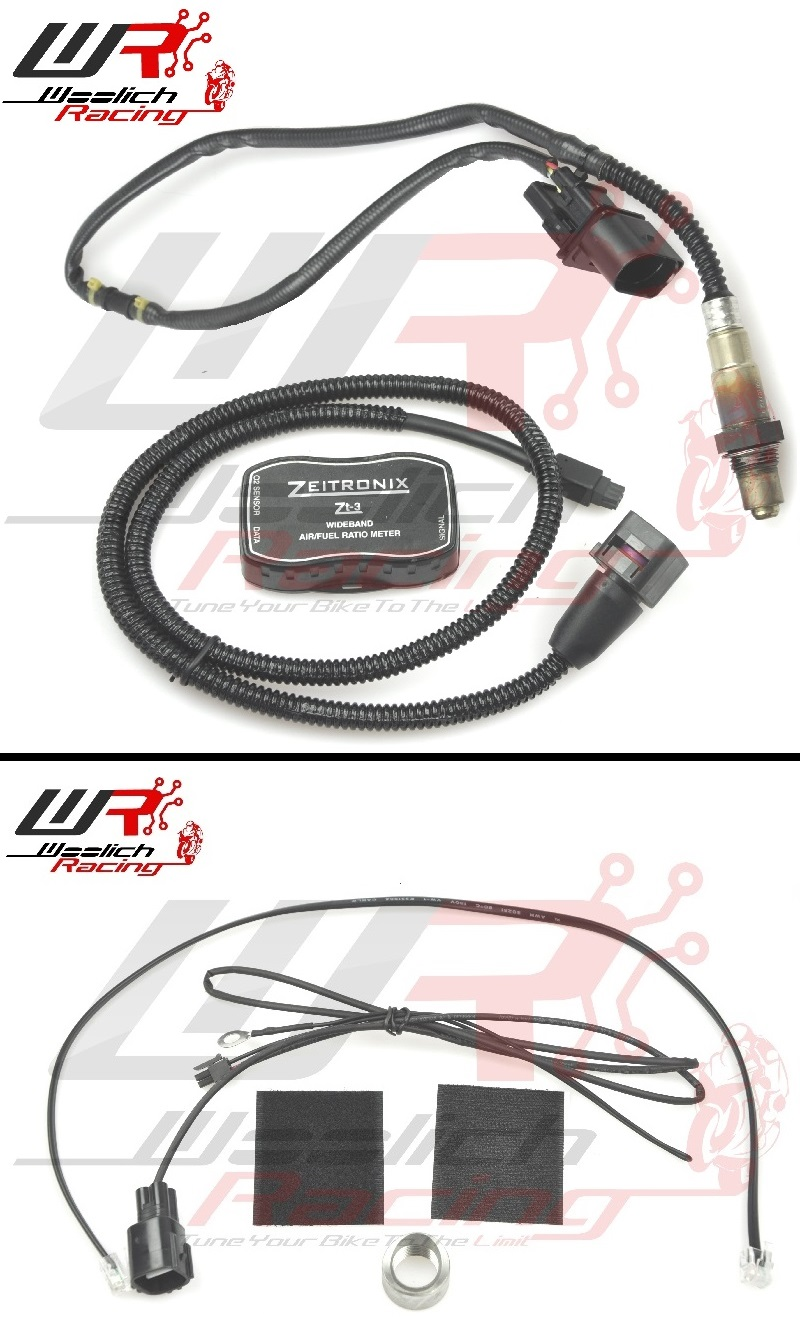 2017-2018 Kawasaki Z650 Log Box (Denso) v3 + Zeitronix ZT-3 Wideband O2 Package