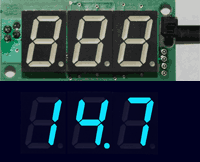 Hacker/Tweaker AFR Display - Blue LED