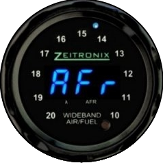 Zeitronix ZR-1 AFR Gauge - Blue LED