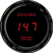 Zeitronix ZR-3 AFR Gauge - Red LED