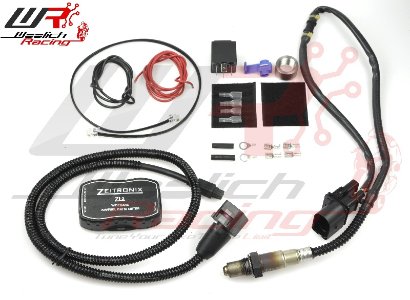 2003-2004 Suzuki GSX-R 1000 EM-Pro - Log Box D v3 + Zeitronix ZT-3 Wideband O2 Package