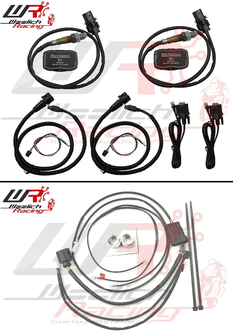 2013-2015 Ducati 899 Panigale - Log Box M-Duc v3 + Zeitronix ZT-3 Wideband Package