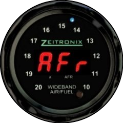 Zeitronix ZR-1 AFR Gauge - Red LED